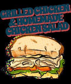 Grilled Chicken & Homemade Chicken Salad